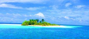 De eilandjes van de Malediven